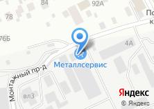 Компания «Техпромснаб+» на карте