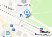 Компания «Томилино» на карте