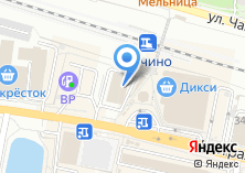 Компания «Всё для шитья и рукоделия» на карте