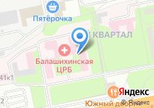 Компания «Балашихинский диагностический центр» на карте