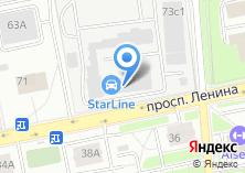 Компания «Перфоком» на карте