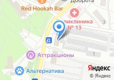 Компания «Кухни АБТ» на карте