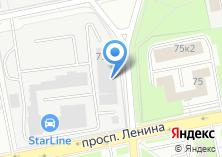 Компания «АРТЛАЙН» на карте