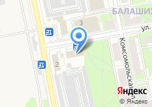Компания «Особый статус» на карте
