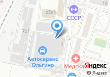Компания «Магазин автомасел и автозапчастей» на карте
