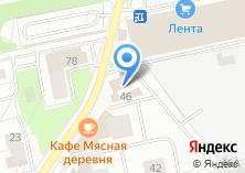 Компания «Маг дверей» на карте