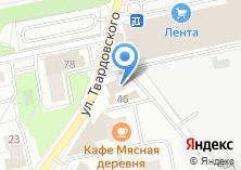 Компания «Ковры.нет» на карте