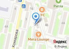 Компания «Учебный центр индустрии красоты на Комарова» на карте
