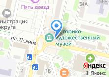 Компания «Берега Клязьмы» на карте