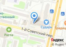 Компания «Benilux» на карте