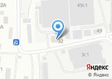 Компания «Меткровати» на карте