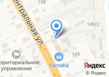 Компания «Автомойка на Центральной» на карте