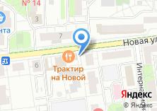 Компания «Магазин фастфудной продукции на Новой» на карте