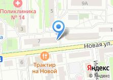 Компания «Продукты на Новой» на карте