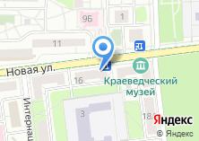 Компания «Пятерка за знания» на карте