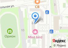 Компания «Сеть цветочных магазинов» на карте