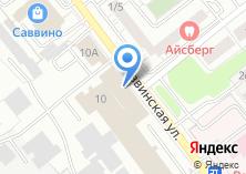 Компания «Славяна» на карте