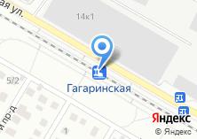Компания «Гагаринская» на карте