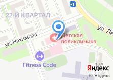 Компания «Детская поликлиника им. М.В. Гольца» на карте