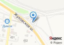 Компания «АЗС на Жуковском шоссе» на карте