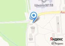 Компания «Универсам на ул. Агрогородок» на карте