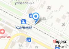 Компания «Удельная» на карте