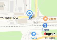 Компания «Автостоянка на Ласточкином проезде» на карте