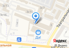 Компания «Магазин отделочных материалов» на карте