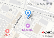 Компания «ВОС» на карте