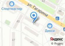 Компания «Ленок» на карте
