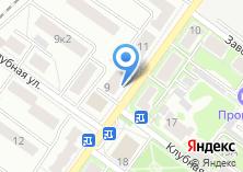Компания «Диора» на карте