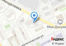 Компания «Жуковский» на карте
