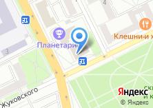 Компания «Полет» на карте