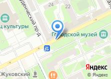 Компания «Жуковская городская похоронная служба - ритуальные услуги в Жуковском» на карте