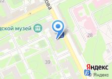 Компания «Жуковская» на карте
