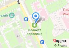 Компания «Актуально» на карте