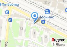 Компания «Козерог» на карте