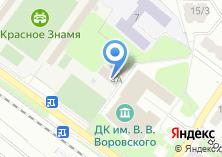 Компания «Дворец культуры им. В.В. Воровского» на карте