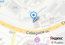 Компания «Шинсервис» на карте