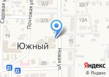 Компания «Строящееся административное здание по ул. Новая (Южный)» на карте