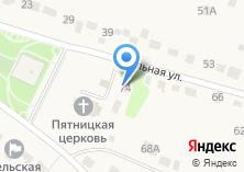 Компания «Фельдшерско-акушерский пункт Липецкая центральная районная больница» на карте
