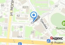 Компания «Телеком» на карте