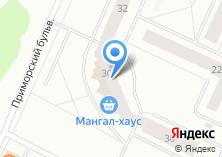 Компания «Династия-М» на карте