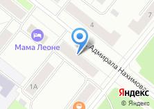 Компания «Московский Индустриальный Банк Архангельский филиал» на карте