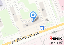Компания «Магазин головных уборов на ул. Ломоносова» на карте