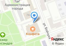 Компания «МУЗА» на карте