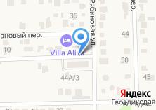 Компания «Строящееся административное здание по ул. Берёзовый пер (Янтарный)» на карте