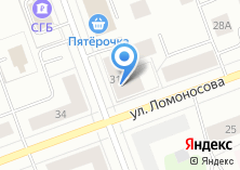 Компания «Ломоносов» на карте