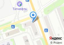 Компания «AviaLine» на карте