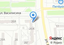 Компания «Винтажный» на карте